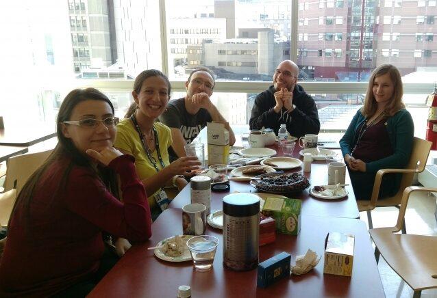 Lab-members-first-tea-time-meeting